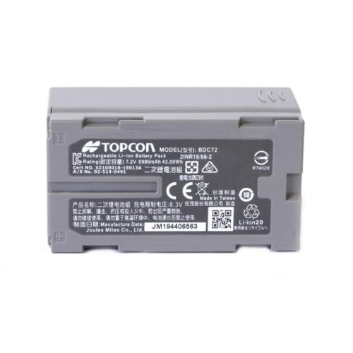 TOPCON BDC72 - аккумулятор