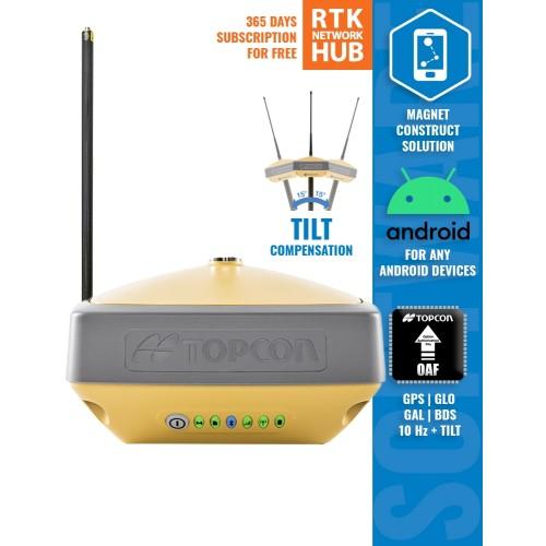 TOPCON HIPER VR SET - gnss / gps комплект для работы в RTK