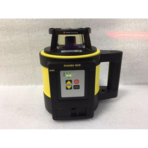 LEICA RUGBY 820 б/у ротационный лазерный нивелир