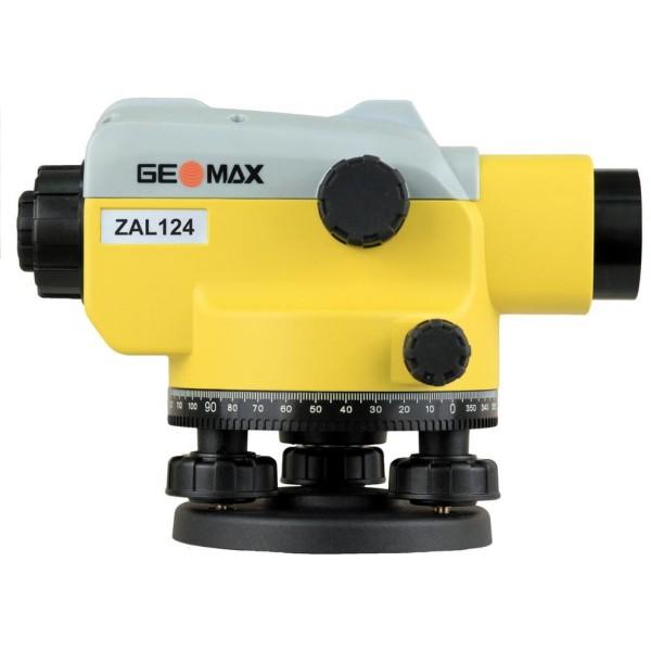 GEOMAX ZAL124 NEW SET - комплект: нивелир + штатив + рейка