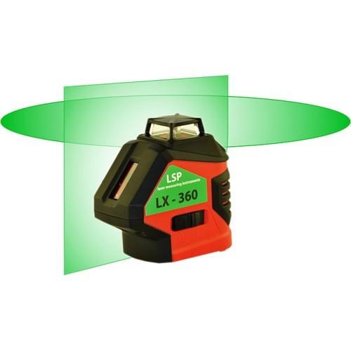 LSP LX-360 GREEN - уровень лазерный построитель плоскостей