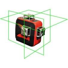 LSP LX-3D MAX GREEN - лазерный уровень построитель плоскостей (зелёный луч)