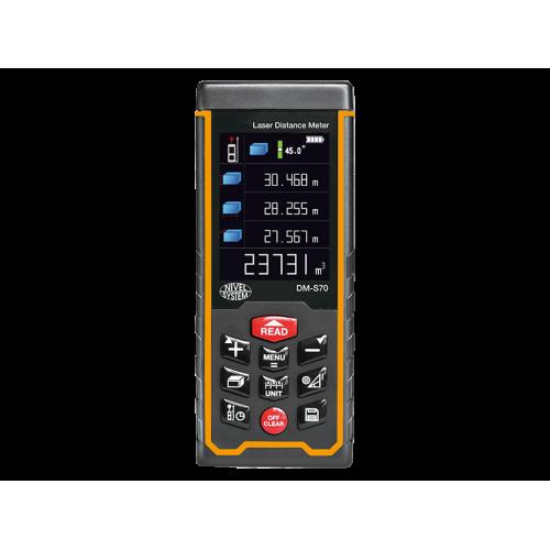 NIVEL SYSTEM DM-S70 - лазерная рулетка, дальномер