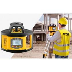 НОВИНКА - новая серия лазерных ротационных нивелиров Nivel System NL500