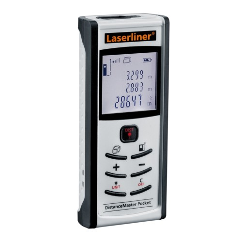 LASERLINER DistanceMaster Pocket - лазерная рулетка, дальномер