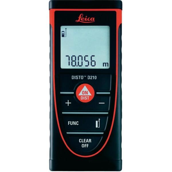 LEICA DISTO D210 - дальномер, лазерная рулетка