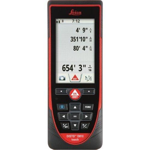 LEICA DISTO D810 touch - дальномер, лазерная рулетка