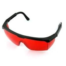 Очки для работы с лазерным инструментом красные
