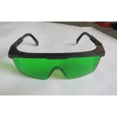 Очки для работы с лазерным инструментом зелёные